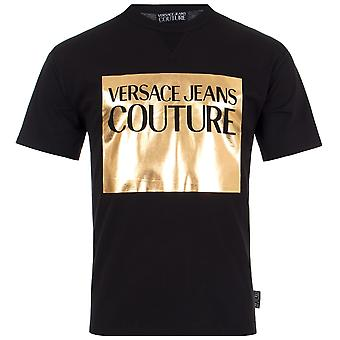 Versace Jeans Couture Gold Panel T-Shirt