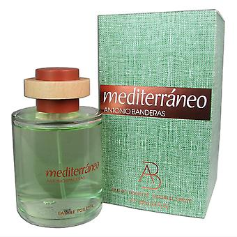 Mediterraneo for men by antonio banderas 3.4 oz eau de toilette natural spray