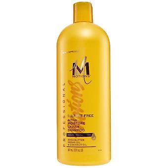 Moties sulfaat-vrije actieve vocht kwistig Shampoo 947ml, 32oz