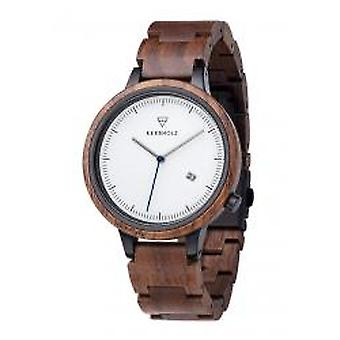Kerbholz Herrenuhr Lamprecht Walnuss (New-Lamprecht-Walnut)