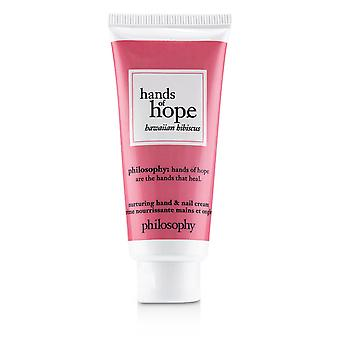 Hands of hope nurturing hand & nail cream hawaiian hibiscus 242090 30ml/1oz