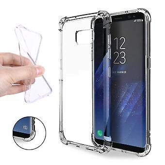 Stuff Certified® Transparent Clear Bumper Case Cover Silicone TPU Case Anti-Shock Samsung Galaxy S8