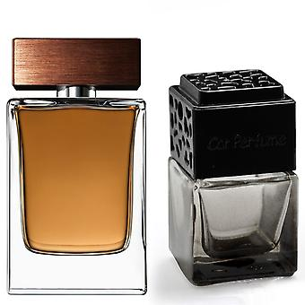 D&G The One For Him Inspired Fragrance 8ml Smoked Black Bottle Car Air Freshener Vent Clip