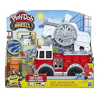 Play-Doh Hjul Fire Truck Leketøy 5 Farger Inkludert Vann Sammensatte