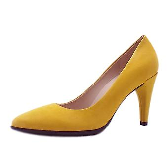 ECCO 269503 Shape 75 Pointy Fashion Shoes In Marigold