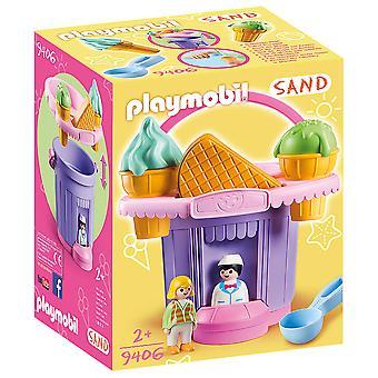 Playmobil 9406 Sand Glass Shop Sand Bucket med sikt- och våffelformar