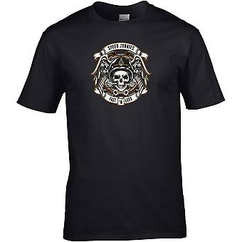 Speed Junkies Biker - Motorrad Motorrad Biker - DTG gedruckt T-Shirt