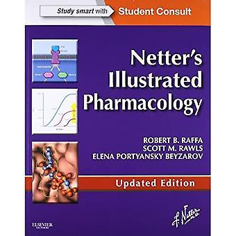 Pharmacologie illustré Netter édition mise à jour: avec l'élève Consult accès, 1e
