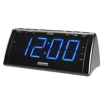 Radio Alarm Clock with LCD Projector Daewoo 222932 USB