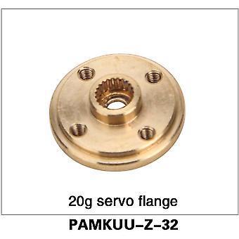 20g Servo Flansch