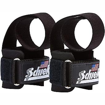Schiek Sport Model 1000-PLS Deluxe Power Lifting Straps - Black