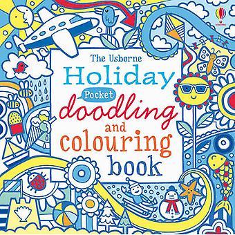 Pocket Doodling e Colorazione - Vacanza - 9781409530466 Libro