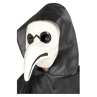 Mens Plague Doctor Mask  Fancy Dress Accessory