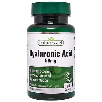 Nature's Aid Hyaluronic Acid 50mg Capsules 60 (126720)