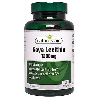 Nature's Aid Lecithin 1200mg Softgels 90 (12520)