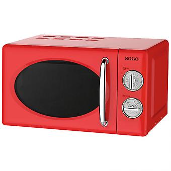 Sogo HOR-SS-890 20 L rot 700W Mikrowelle
