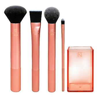 Set of Make-up Brushes Flawless Real Techniques (4 pcs)