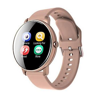 Lemfo Q5 Plus Sports Smartwatch Fitness Sport Activity Tracker Smartphone Watch iOS Android iPhone Samsung Huawei Pink