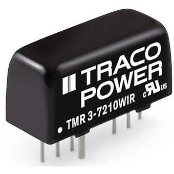TracoPower TMR 3-2412WIR DC/DC omformer (utskrift) 24 V DC 250 mA 3 W Nr. av utganger: 1 x