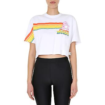 Gcds Cb20w02001401 Women's White Cotton T-shirt