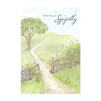 Hallmark With Deepest Sympathy Bereavement Card 25489655
