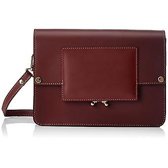 Chicca Bags 1637 Women's Red shoulder bag (Edge) 26x18x99 cm (W x H x L)