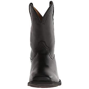 Ariat Mens Heritage Roper Wst Deri Kare Ayak Orta Buzağı Batı Boots