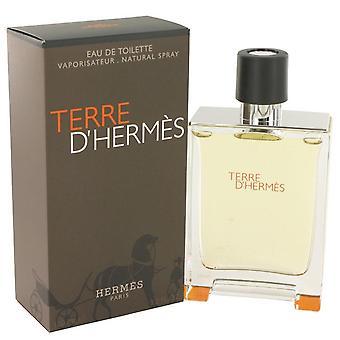 Terre D'hermes Eau De Toilette Spray By Hermes 3.4 oz Eau De Toilette Spray