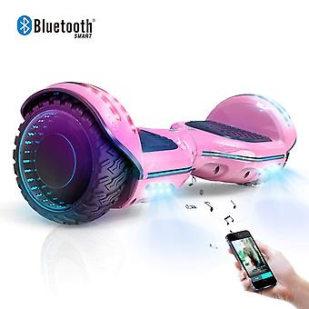CLASSIC HOVERBOARD Kids Super Gifts Segway Self Balanced Electric Scooter built in Bluetooth Speakers pink