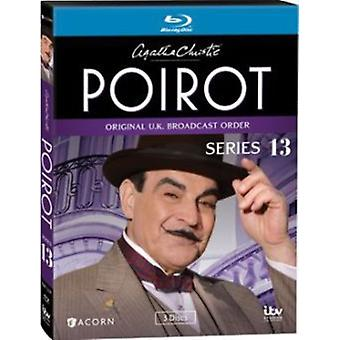 Agatha Christie's Poirot: Series 13 [BLU-RAY] USA import