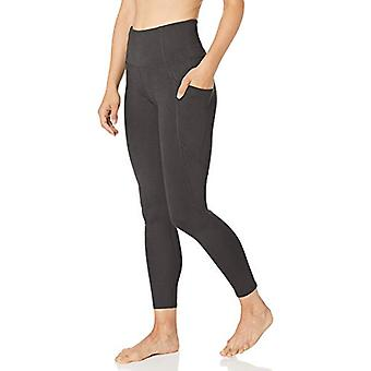 Core 10 Women's All Day Comfort High Waist Yoga Legging with, Grey, Size X-Large