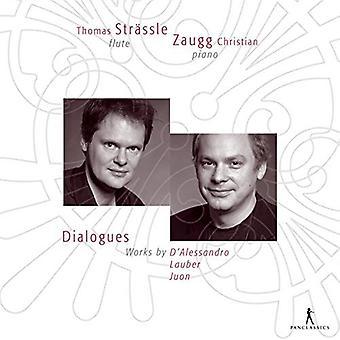 D'Alessandro / Juon / Lauber / Strassle / Zaugg - Dialogues [CD] USA import