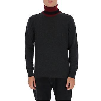 Maison Margiela S30hb0235s17555002f Men's Grey Wool Sweater
