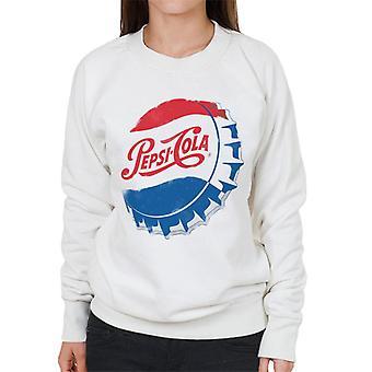 Pepsi Cola Retro 1950s Bottlecap Women's Sweatshirt