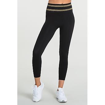 Jerf   Womens Neiva   Black   Seamless Active leggings
