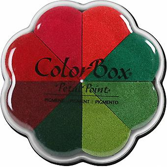 Clearsnap ColorBox Pigment Petal Point Poinsettia