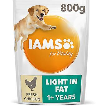Iams Vitality Adult Light In Fat With Fresh Chicken - 800g