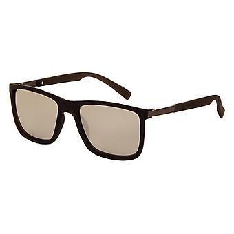 Sunglasses Men's Mirror Rectangular Men's Matt Black (A-Z8200)