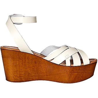 Seychelles Women's Shoes High and Low Leather Peep Toe Casual Platform Sandals
