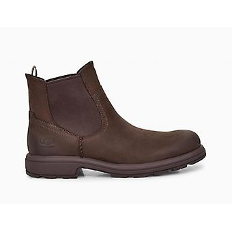 UGG Biltmore Chelsea Mens Leather Ankle Boots Stout