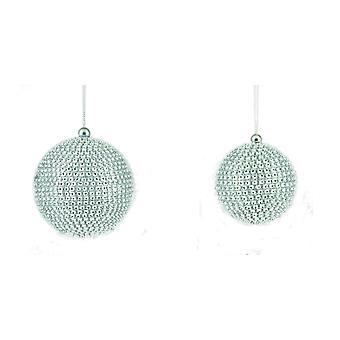 Premier Christmas Diamante Baubles (Conjunto de 3)