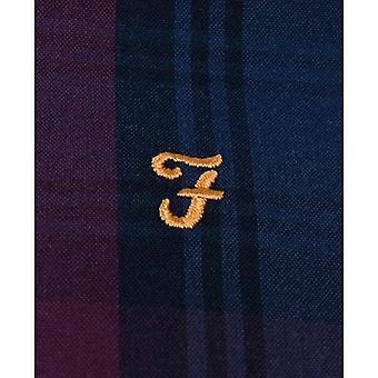 Farah Brewer camisa de verificação tartan