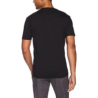 "Marke - Goodthreads Men's ""The Perfect V-Neck T-Shirt"" Short-Sleeve Cotton, Schwarz, X-Small"