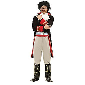 Orion kostuums mens Adam Ant Glam Rock Prince charmante 80s Fairytale fancy dress