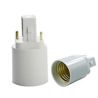 G24 To E27 Adapter Converter For Led/ Halogen / Cfl Light Bulb Lamp
