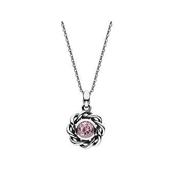 Heritage Birthstone Octobre Rose Tourmaline Collier 9234OCT024
