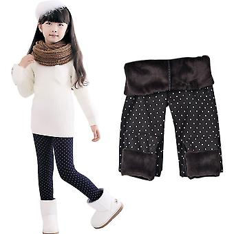 3-11 Year Cotton Warm Pant For- Trousers Print Legging