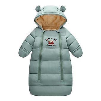 الشتاء الدافئ مقنعين، معطف طويل أسفل