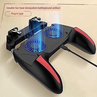 Game Mobile Controller, With Double Fan Cooling -for Smartphone