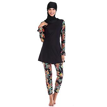 Muslim Swim Wear Burkinis Bathing Suit, Beach Swimsuit Full Coverage Muslim